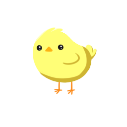A small, round, yellow Terran Chick, that looks an awful lot like a real Earth chick.