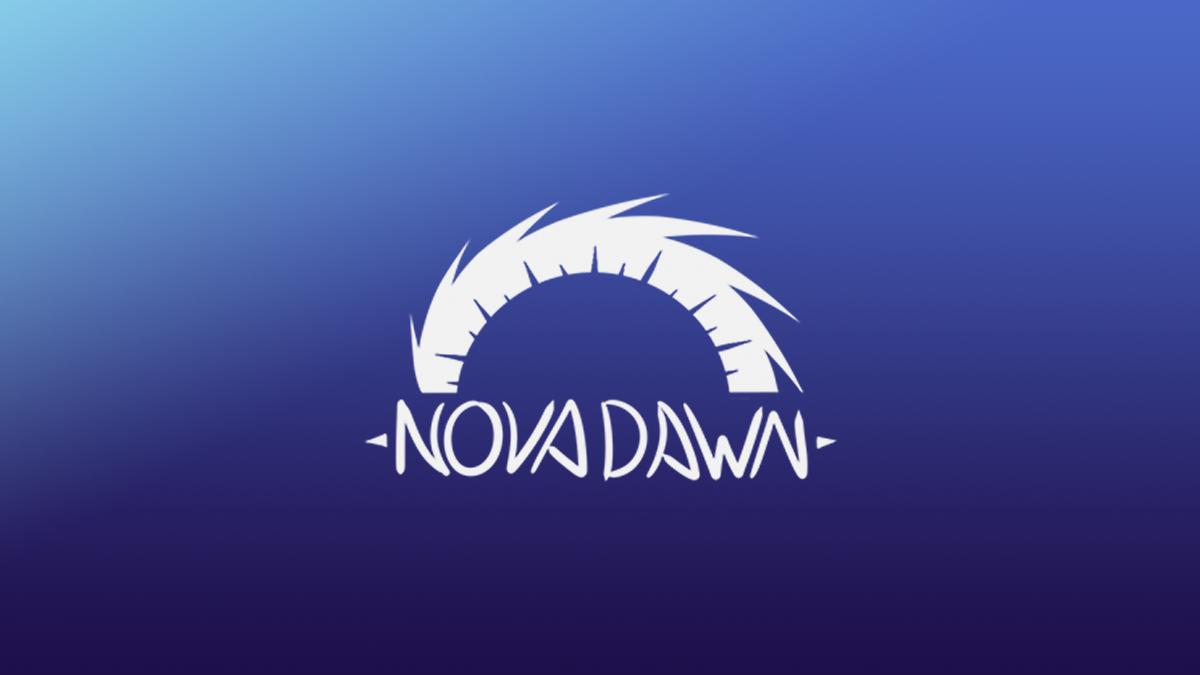 The NovaDawn Studios logo